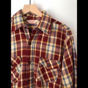 """Vintage Flannel; 1970s Jim """"Catfish"""" Hunter"""
